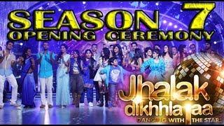 Jhalak Dikhla Jaa Season 7 GRAND OPENING CEREMONY 2014 FULL EPISODE Press Conf.