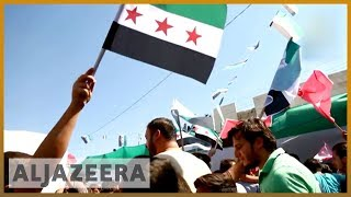Protests held in Idlib demanding Assad leaves power | Al Jazeera English