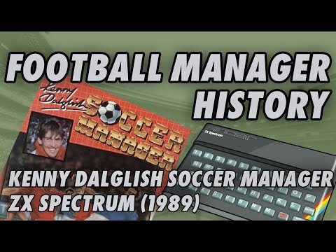 Kenny Dalglish Soccer Manager | ZX Spectrum | History of Football Mangement Games
