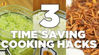 Download 3 Time Saving Cooking hacks by Food Fusion