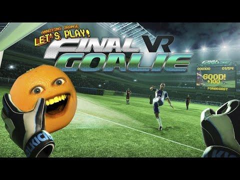 Annoying Orange Plays Final Goalie VR