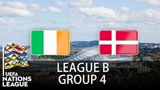 Ireland vs Denmark - 2018-19 UEFA Nations League - PES 2019