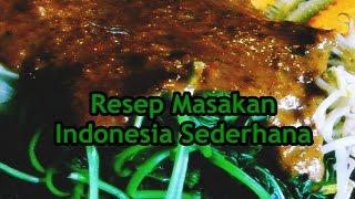Resep Masakan Indonesia Sederhana