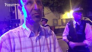 Video Shows Man Arrested After London Mosque Attack