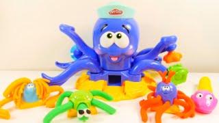 Lär dig färger med play doh för barn
