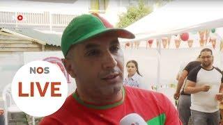 LIVE: Hoe beleven Marokko-fans de wedstrijd?