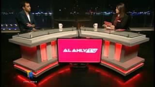 احمد عبد الباسط على قناة الاهلى