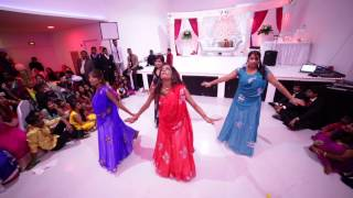 paris  tamil  girls - wedding dance