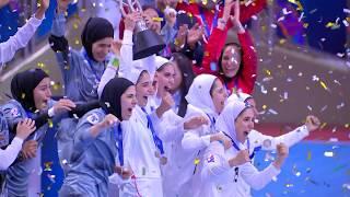 #AFCWFutsal2018 IR Iran Trophy Lift