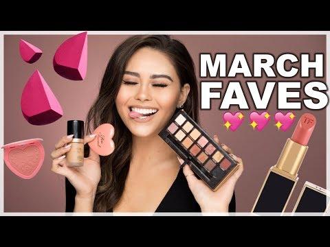 MARCH BEAUTY FAVORITES 2018 | Roxette Arisa