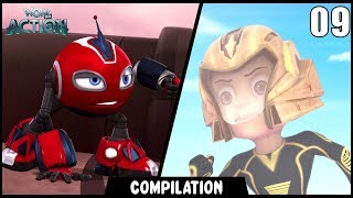 Vir: The Robot Boy & Rollbots | Compilation 09 | Action show for kids | WowKidz Action