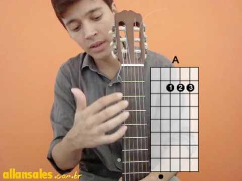 Aulas de violão para iniciantes nº1