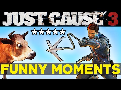 Just Cause 3 Funny Moments EP.2 JC3 Epic Moments Funtage Montage Gameplay