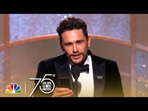 James Franco Wins Best Actor Musical or Comedy at the 2018 Golden Globes