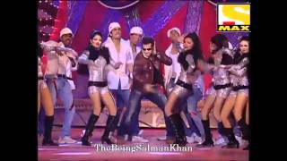 Salman Khan rocking performance - 20th February 2011 - Exclusive **HD Video**