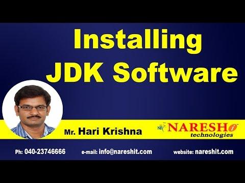 Installing JDK Software | Core Java Tutorial | Mr.Hari Krishna