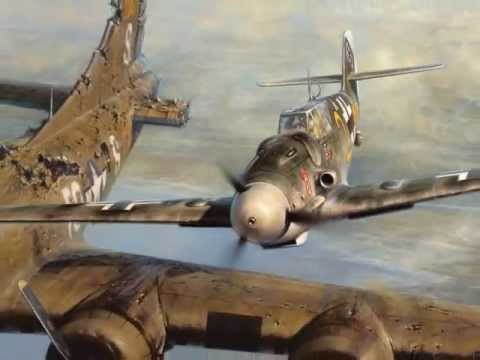 Bf 109 pilot Franz Stigler and B-17 pilot Charlie Brown's first meeting