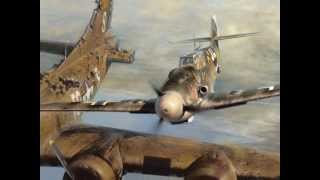 Bf 109 pilot Franz Stigler and B-17 pilot Charlie Brown's first meeting