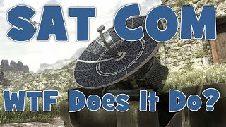 COD Ghosts - SAT COM: What Does It Do?