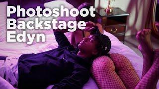 Photoshoot backstage & Edyn | TheVisionPhotos