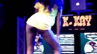 Nigerian Girl Strips For Iyanya and Fans At Iyanya's Concert in Manchester