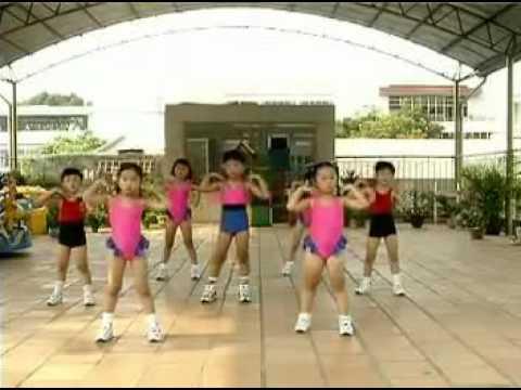 bài tập thể dục buổi sáng cho trẻ Mầm Non bài 7