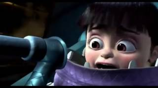 The entire Monster inc movie but its in reverse