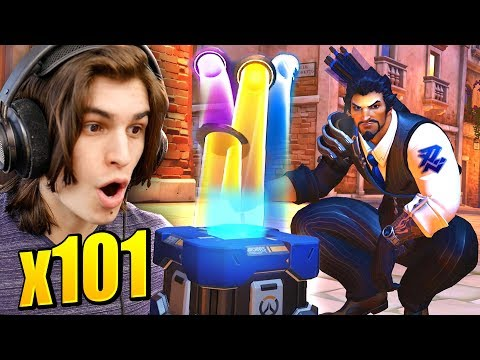 101x RETRIBUTION LOOTBOX OPENING Overwatch Archives Event