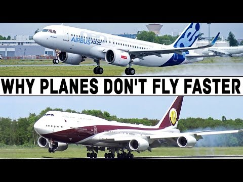 WHY DO WE FLY SO SLOWLY