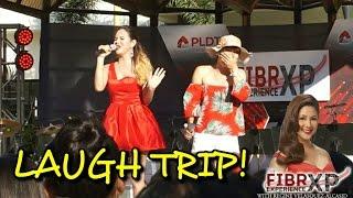 ATE GAY & REGINA OTIC - Comedy Act (FIBR Experience Live @ Laguna!) #LaughTrip
