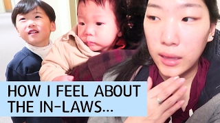 KOREAN TEEN MOM: How I Feel about my In-Laws + Having Steak & Lots of Family Time During Christmas!