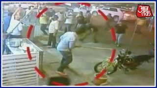 Caught On Camera: Bloodshed Witnessed Outside A Restaurant In Jaipur