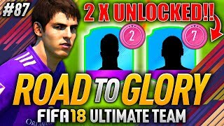 THESE ARE MY CHOICES... 2 AWESOME FUT SWAPS UNLOCKED! FIFA 18 ROAD TO GLORY #87