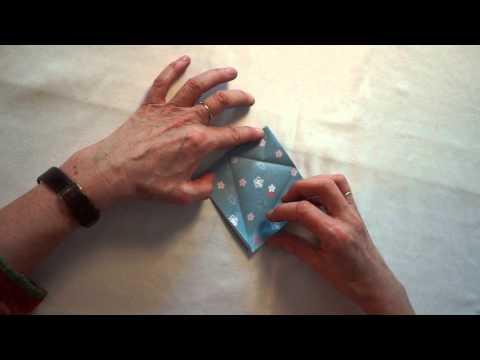 Benediktushof Origami Anleitung Kranich Mit Doris Zölls Playithub