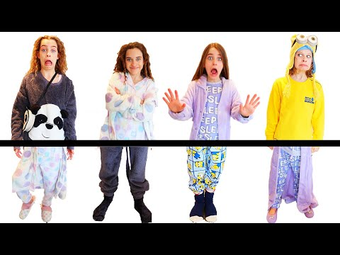 OH NO OUR PAJAMAS ARE ALL MIXED UP Challenge By The Norris Nuts