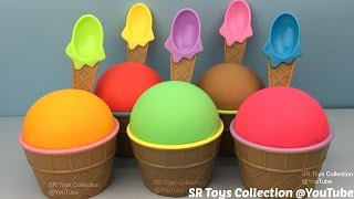 Play Doh Ice Cream Cups Surprise Toys My Little Pony Inside Out Ooshies The Secret Life of Pets Bags