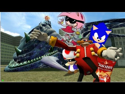 Sonic the derphog The Evilness of Eggman