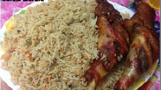 Arabian Mandhi Rice / Kuzhi Mandhi Home made കുഴി മന്തി