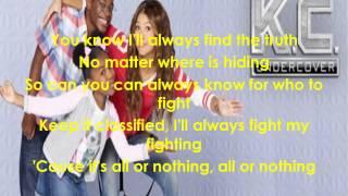 K.C Undercover - Theme Song - Lyrics - Full Song