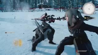 Final Fantasy XV: Aranea Boss Fight - Episode Prompto (1080p 60fps)