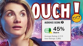 Doctor Who 45% Rotten Tomatoes Audience Score | The Whovians Have Spoken