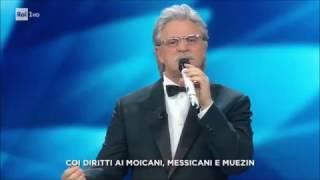 """Sanremo 2017 - Maurizio Crozza - Il senatore Antonio Razzi con """"Estabiliscimento"""""""