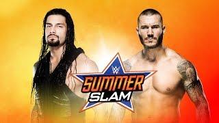 Roman Reigns vs. Randy Orton - SummerSlam 2014 - WWE 2K14 Simulation