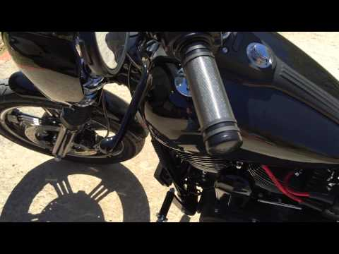 Harley Davidson Street Bob 2015 with Screamin Eagle 120R motor.