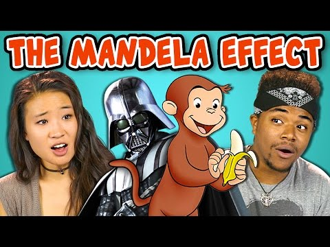 10 CREEPY MANDELA EFFECTS WITH COLLEGE KIDS React