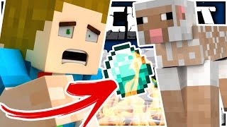 Minecraft   MY ONLY DIAMOND IS DEAD!! + Naked Sheep - Moon Butt Mission
