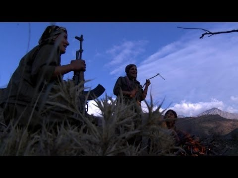 Kandil'deki PKK'lı kadınlar - BBC TÜRKÇE