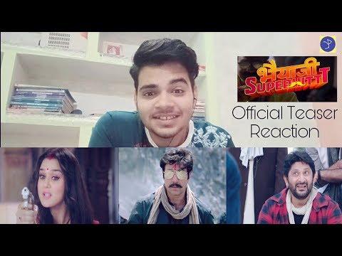 Bhaiaji Superhit - Teaser Reaction _ Sunny Deol, Preity Zinta, Arshad Warsi & Shreyas Talpade