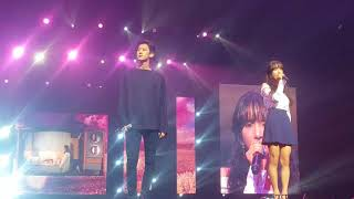 CHANYEOL AND SEOLA - STAY WITH ME. GOBLIN OST. KCON SYDNEY AUSTRALIA 170922