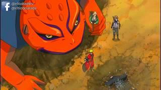Naruto se entera que kakashi esta muerto HD.